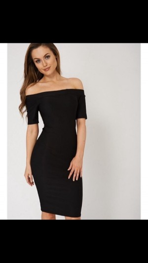 midi Bardot Bodycon