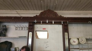 21 foot Victorian back bar ... With 7 mirrors .. 7500 Ono