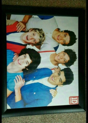 One direction hanging picture