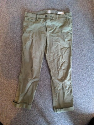 Olive trousers - GAP 32 30