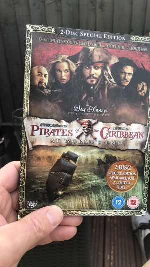 DVD pirates of Caribbean at world end
