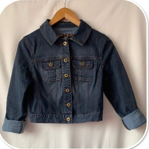 Stunning Jane Norman Cropped Jeans Jacket