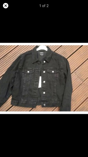 Denim jacket brand new with tags size 14/12