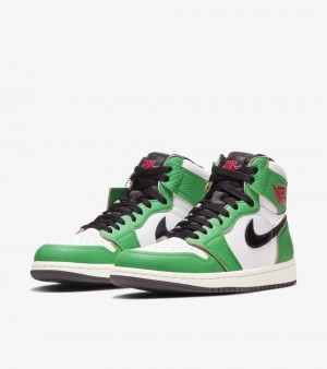 Nike Air Jordan 1 High Lucky Green UK7.5 US8.5 DS