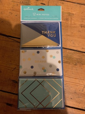 Unopened - package of 12 mini notes from Hallmark