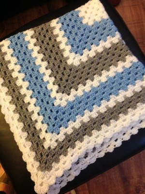 Handmade Crocheted Baby Blankets Made to Order
