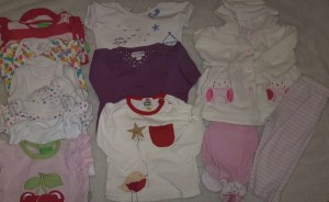 Girls Small 6-9 Month Clothing Bundle