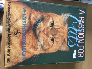 Cats protection book