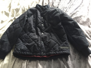 Boys river island quilted jacket aged 11