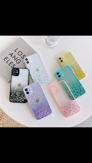 Gradient Glitter Sequins IPhone Case