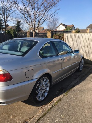 BMW E46 Coupe Auto