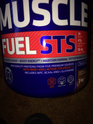 USN High protein muscle fuel STS