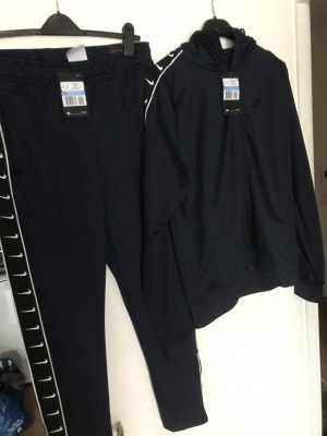 Men's jd sports navy Nike tracksuit new with tags