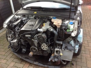 Audi A4 1.8turbo engine and gear box