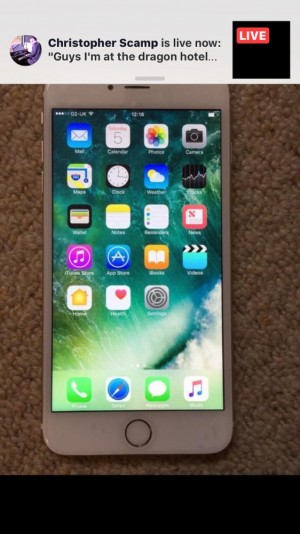 iPhone 6plus unlocked great condition comes with charge case tempered glass screen protector on charger sale or swap for note 5 or s7edge or a decent android phone