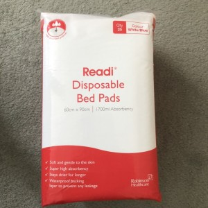 Readi Disposable Incontinence Bed Pads 60 x 90cm 1700ml Absorbency Pac