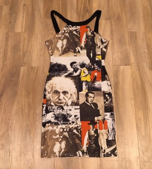 Pop art print dress