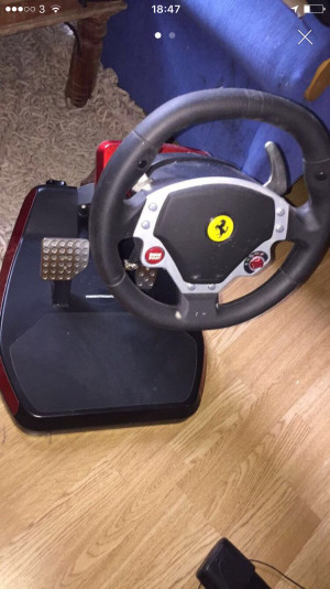 PS3/PC Ferrari driving wheel