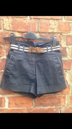 size 8 River Island High Waisted Shorts