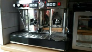 proffesional coffee machine