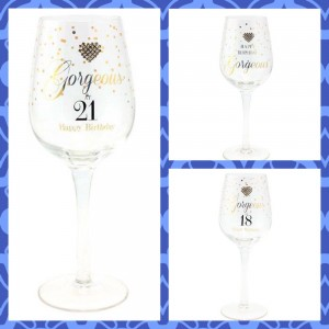 Mad Dots Wine Glasses
