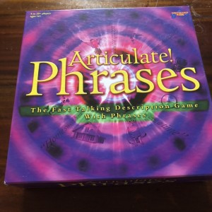 Articulate! Phrases Board Game: The Fast Talking Description Game with