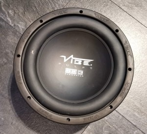 Vibe Pulse Butyl BS Surround Alloy 3 Series Subwoofer 600w PT100 4:ohm