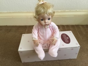 ASHTON DRAKE PORCELAIN DOLL. SUGAR PLUM