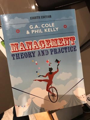 Management theory & practice