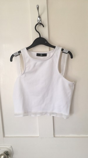 White Misguided Top