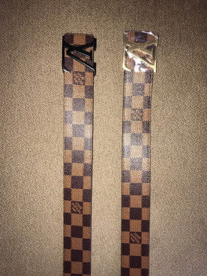 Louis Vuitton INITIALES belts