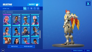 Swap fortnite account