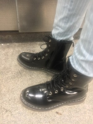 Brand New Military Patent Boots