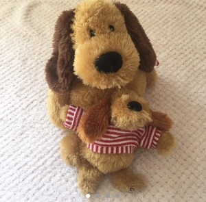 Toy dog duo