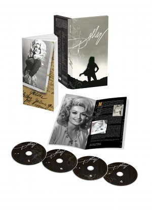 Anniversary 4 CD boxset of hits by Dolly Parton