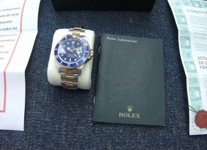 Men's Rolex submariner 116613 oyster perpetual