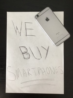 Cash paid for smartphones