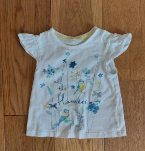 Baby top - ages 6-9 months