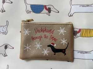 Dachshund purse