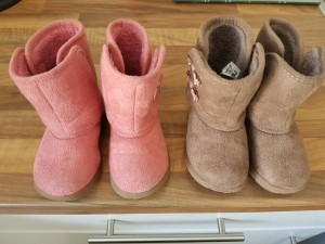Mothercare infant girl boots