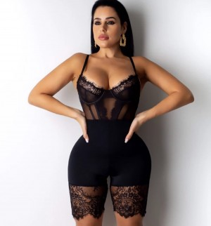Haute Strappy Playsuit