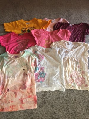 girls aged 6-7 tops and dresses