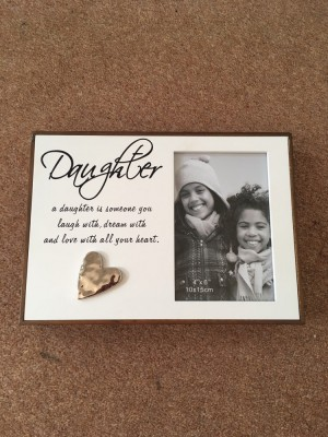Photo frame 'daughter'