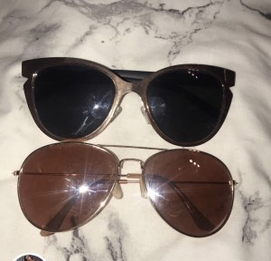 2 pairs of Missguided sunglasses