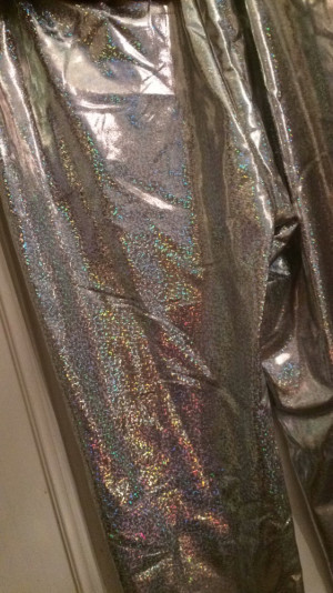 Holographic trousers