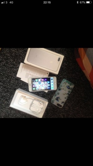 I phone 7 plus 32 gb 2 months old ... very good condition no scratch
