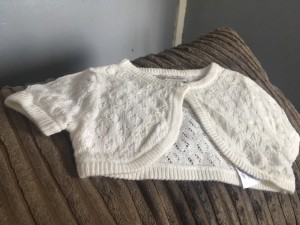 Beautiful baby girls cardigan 0-6 months