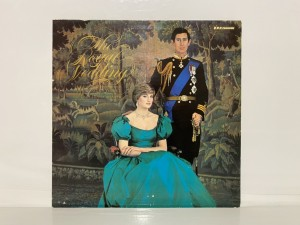 The Royal Wedding Of Prince Of Wales And The Lady Diana Spencer Vinyl