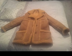 80's Sheepskin Coat, used but in excellent condition, no tears or da