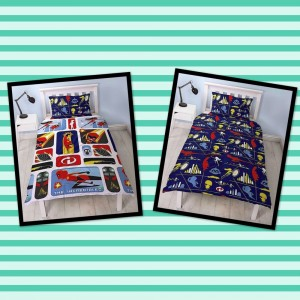 Official Incredibles 2 Reversible Duvet Set